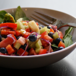 colourful summer salad