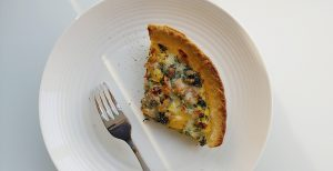 spinach-quiche, recipe, easy